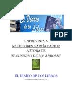 Entrevista a Mª Dolores García Pastor
