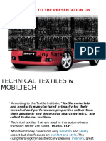 Application of Automobile Textiles