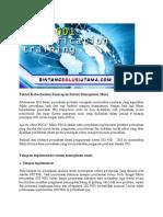 Training ISO 27001, 14001 Jakarta | Wa +62 857 1027 2813