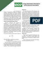 LPR General Information