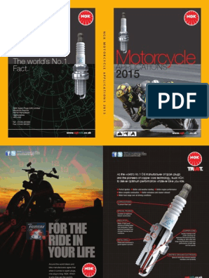 2015-motorcycle-catalogue-ngk-2 pdf   Mechanical Engineering   Chemistry
