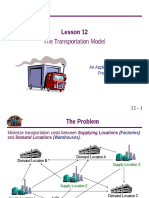 Transportation Model LP.ppt