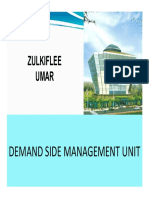 Demand Side Mangement by en. Zulkiflee Umar