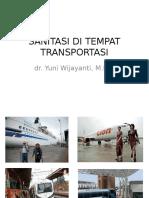 Sanitasi Di Tempat Transportasi