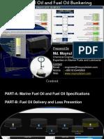 Marine Fuel Oil Bunker Ing