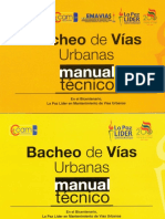 Bacheo de Vías Urbanas - Manual Técnico