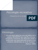 Psicología recreativa