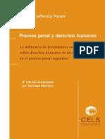 Caferatta Nores, Jose. Proceso penal y derechos humanos.pdf