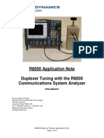 R8000 Duplexer Tuning With the R8000