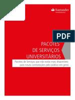 Pacote de Servicos Nao Disponiveis Universitarios