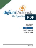 7419 Tdm400p Manual