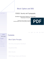 CSS322Y12S2L03 Block Ciphers and DES