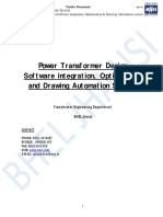 Power Transformer Design Software integration