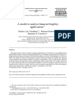 A Model to Analyse Financial Fragility_applications