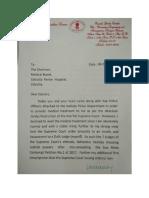CS Karnan Letter