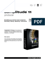 Magix Samplitude 11 Producer Info Uk