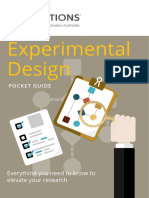 Experimental Design PocketGuide Copy