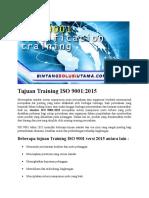Biaya Training ISO 27001 Jakarta | Wa +62 857 1027 2813