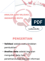 3. Rev 1-Analisa Dan Validasi Indikator Mutu [Autosaved]