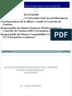 Audit Externe Cca BM