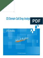 7 CS Domain Call Drop Analysis