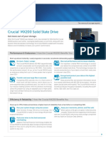Crucial Mx200 Ssd Product Flyer Letter En