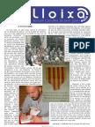 LLOIXA. Número 112, octubre 2008. Butlletí informatiu de Sant Joan. Boletín informativo de Sant Joan. Autor