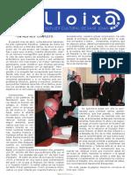 LLOIXA. Número 119, maig/mayo 2009. Butlletí informatiu de Sant Joan. Boletín informativo de Sant Joan. Autor