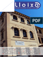 LLOIXA. Número 128, març/marzo 2010. Butlletí informatiu de Sant Joan. Boletín informativo de Sant Joan. Autor