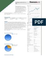 LU0397221945 - Db X-trackers Portfolio Total Return UCITS ETF 1C