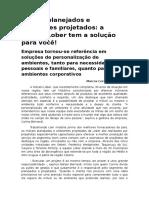 Móveis Planejados e Ambientes Projetados