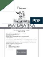 Matematika 9 JUN 2015