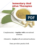 Complementary and Alternative Therapies(Final)