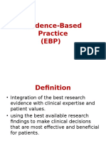 Evidence-Based Practice New