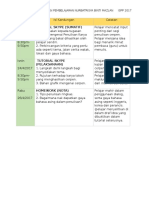 Jadual Pdp Nurbatrisya 2017