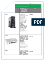 description of hardware components