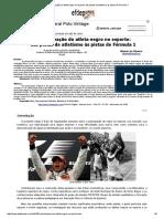 A Participação Do Atleta Negro No Esporte_ Das Pistas de Atletismo Às Pistas de Fórmula 1