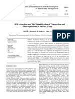 SPE extraction and TLC Identification of Tetracycline and Fluoroquinolone in Surface Water.pdf