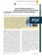 Photocatalysis Versus Photosynthesis
