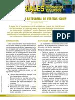 MATERIALES Elaboracion Veletas Coup
