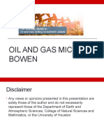 Michael Bowen | Best time to putting resources into oil and gas Industry