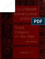 Total Eclipses of the Sun, Todd