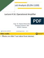 Lecture # 16 ELEN