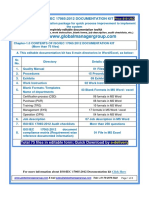 Readymade documentation kit for conformity assessment - ISO/IEC 17065:2012