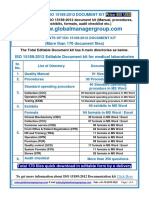 Documentation kit for Medical lab's quality management system - ISO 15189:2012