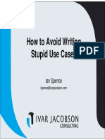 Presentation How to Avoid Stupid Usecases