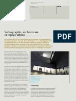 """Reuter, Iris – """"Scénographie, Architecture Et Espace Urbain"""""""