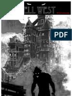 Hell West, par Frédéric Vervisch et Thierry Lamy, un album de BD aux éditions Sandawe