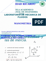 Laboratorio de manometría
