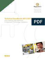 Wagner Solar Technical Handbook 2009 En XXX Technical Handbook TI 101208 1100A500 Web 1